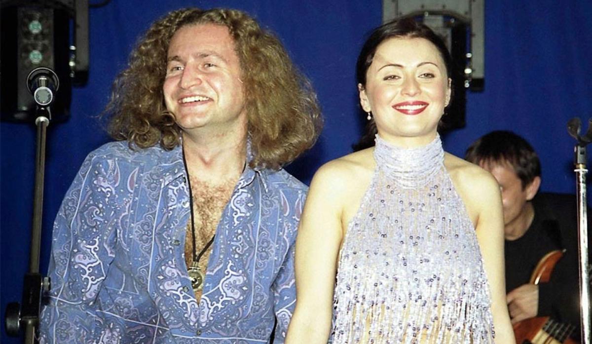 Леонід Агутін та Анжеліка Варум в молодості
