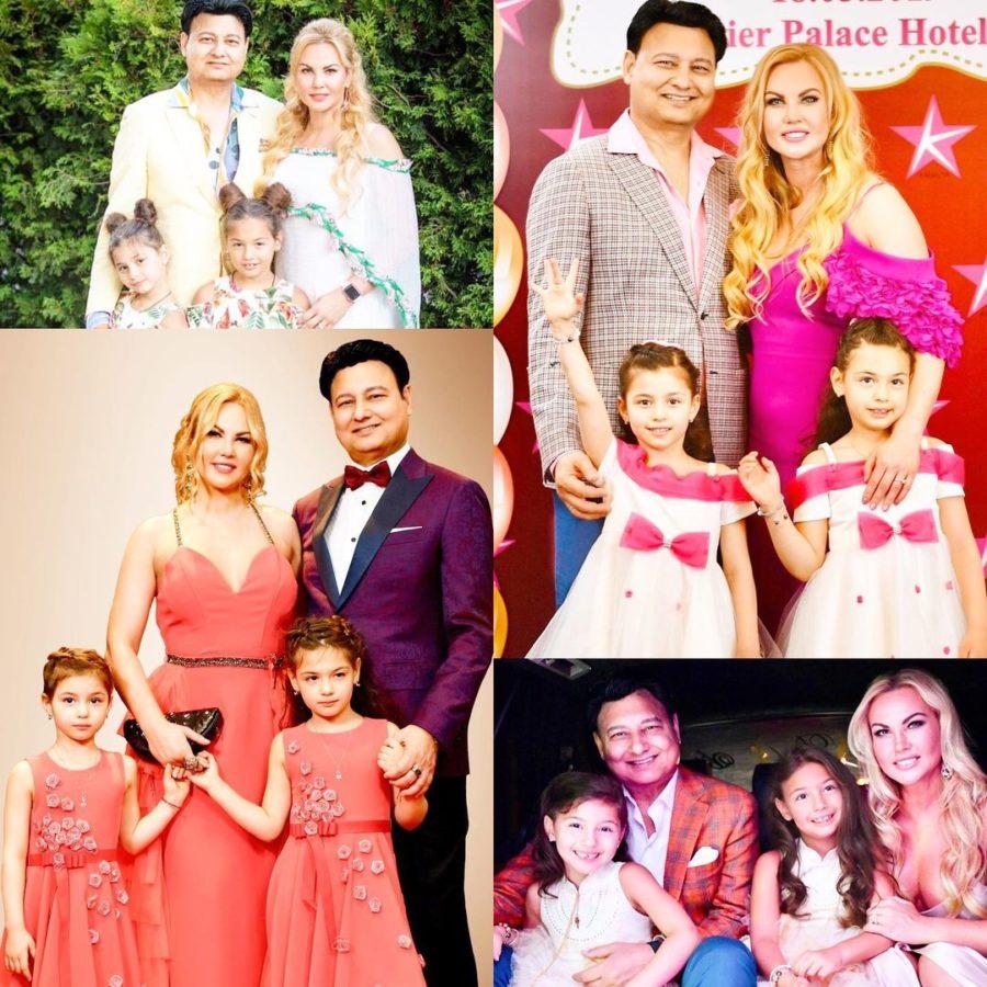 Камалія та Мохаммад Захур разом з доньками
