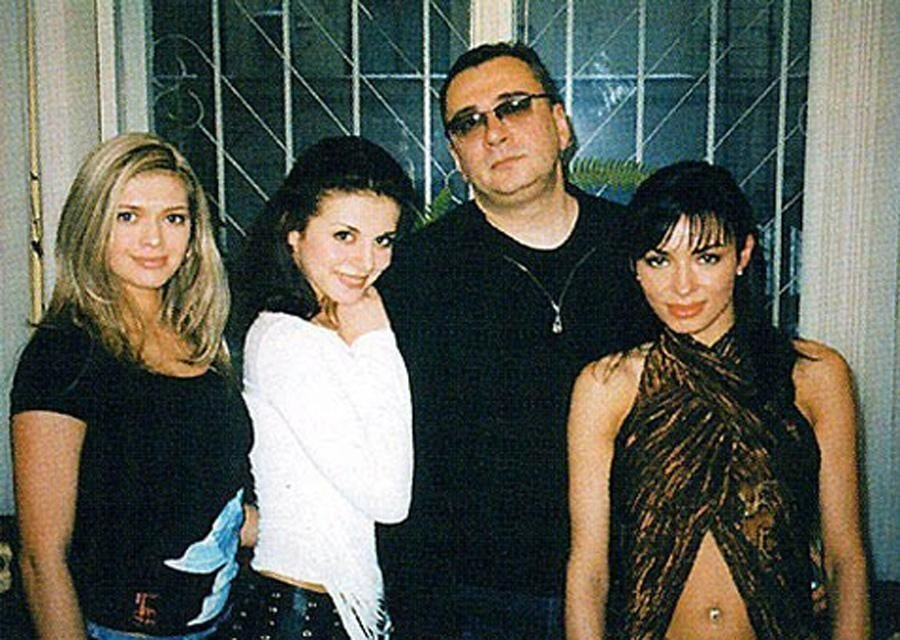 Архівне фото гурту ВІА Гра разом з Костянтином Меладзе