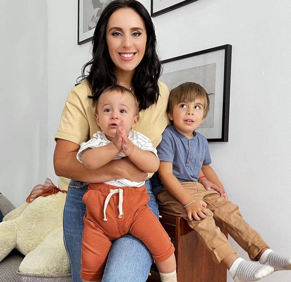 Джамала з синами