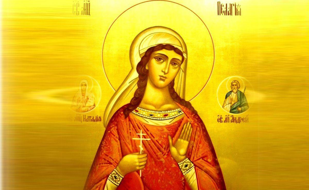 Ікона святої мучениці Пелагії