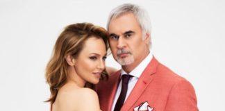 Валерій Меладзе з дружиною Альбіною Джанабаєвою