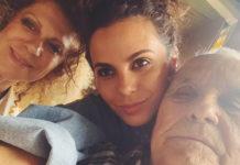 Настя Каменських з батьками