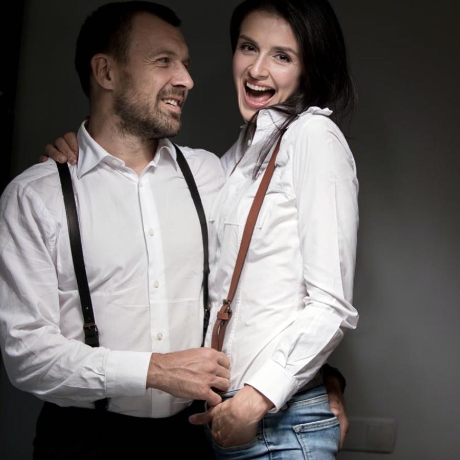 Валентина Хамайко і Андрій Оністрат