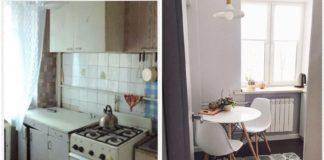 Фото відремонтованої кухні