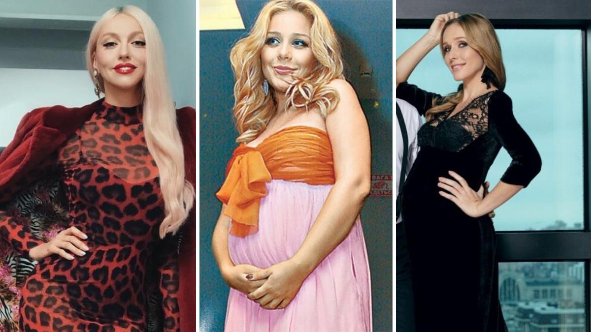 Українські зірки, яки виходили заміж вже вагітними