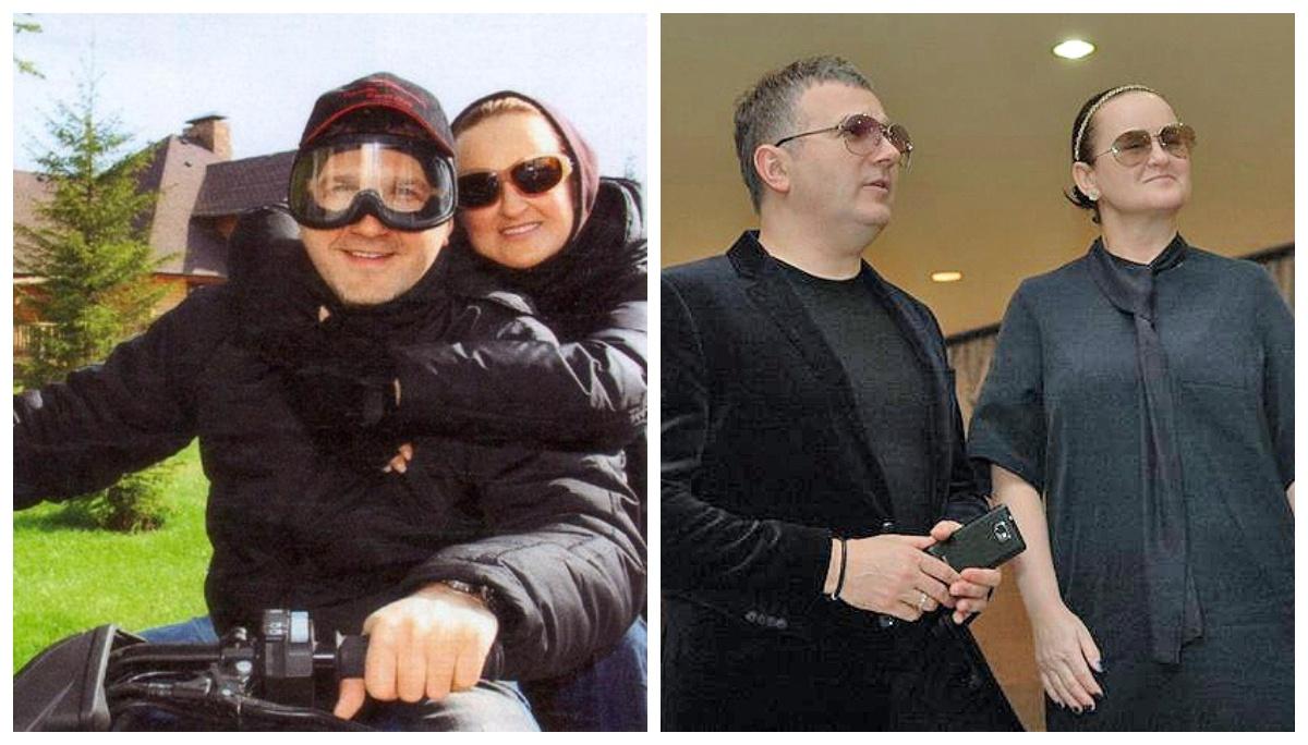 Юрій Горбунов з колишньою дружиною Людмилою