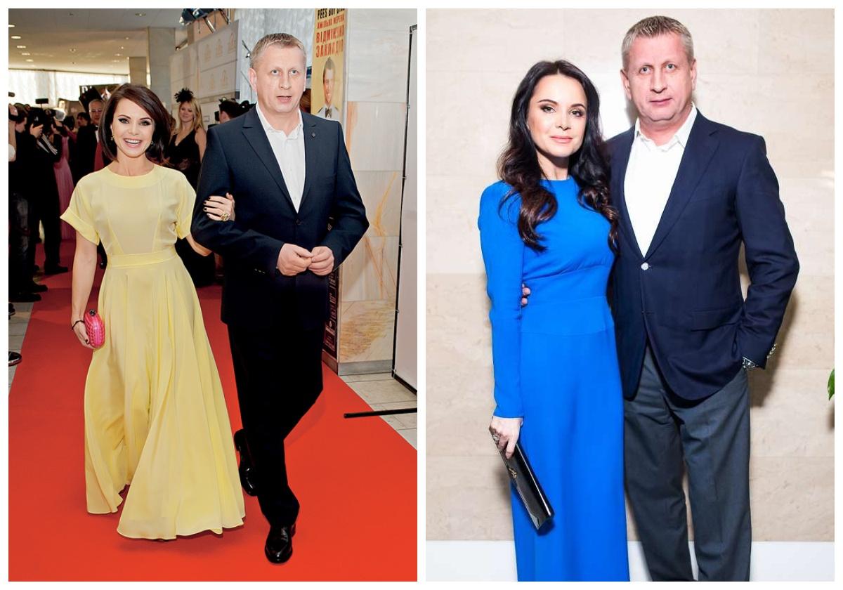 Лілія Подкопаєва зі своїм другим чоловіком Віктором Костирко