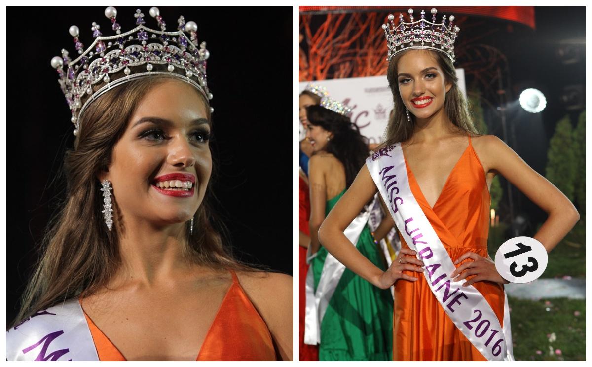 Олександра Кучеренко на конкурсі краси Міс Україна-2016