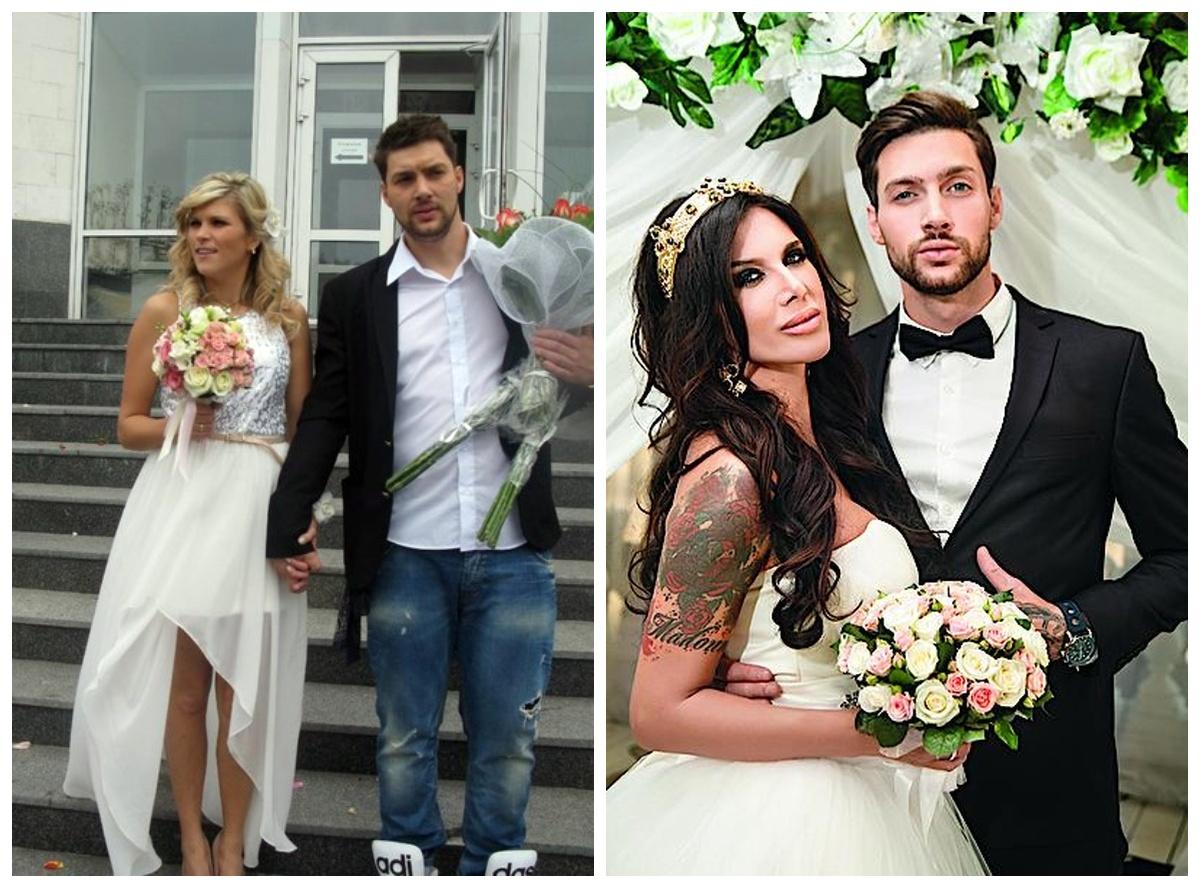 Перша і друга дружини Олега Кензова