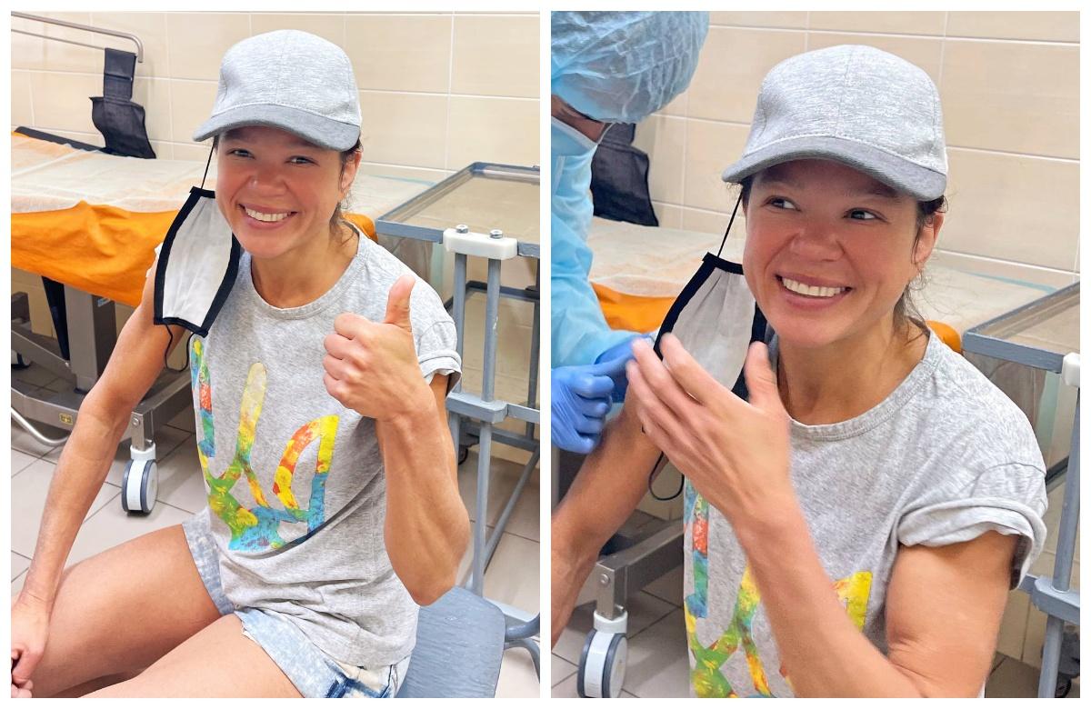 Руслана в лікарні