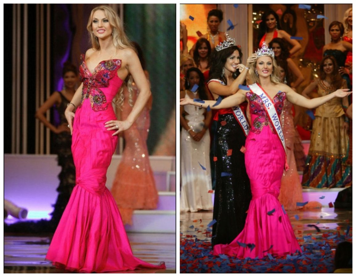 Камалія на конкурсі краси Місіс Світу 2008