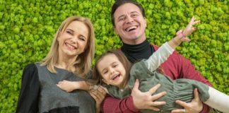 Лілія Ребрик з родиною