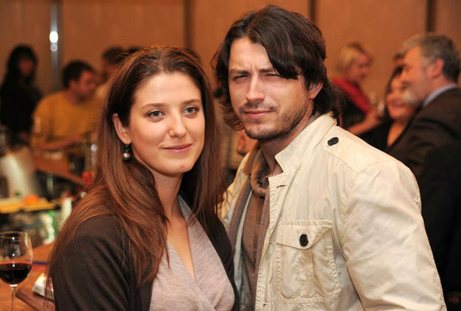 Сергій Притула з колишньою дружиною Юлією