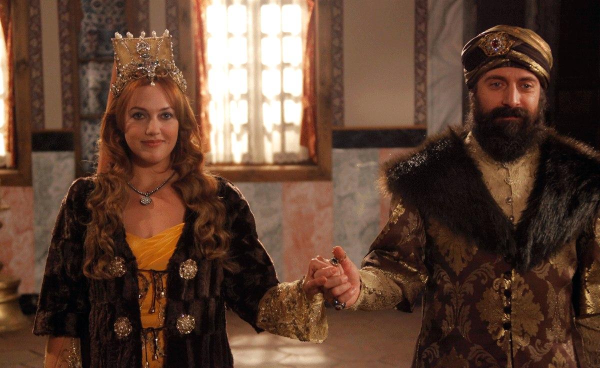 Кадр з серіалу Величне століття