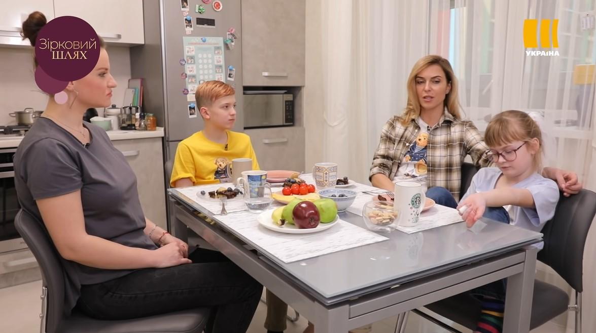 Марина Боржемська з дітьми в програмі Зірковий шлях