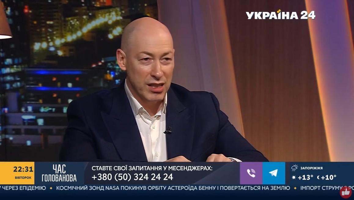 Дмитро Гордон в програмі Час Голованова