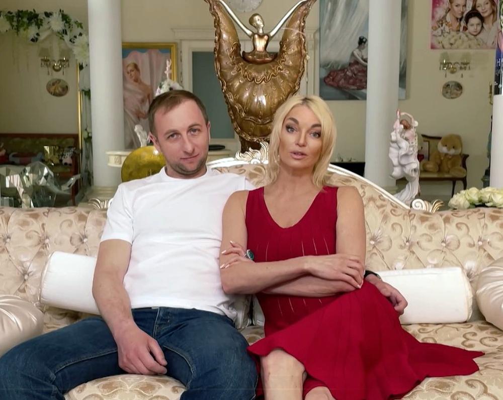 Анастасія Волочкова зі своїм коханцем Олегом
