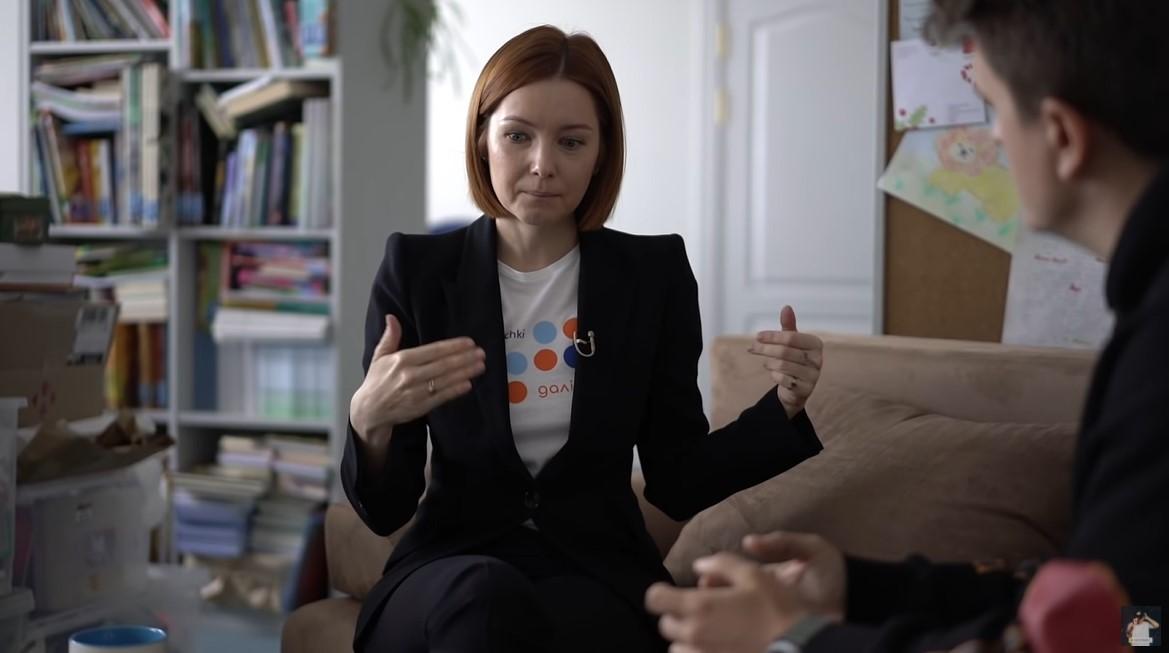Ольга Кудиненко у Зе Інтерв'юер