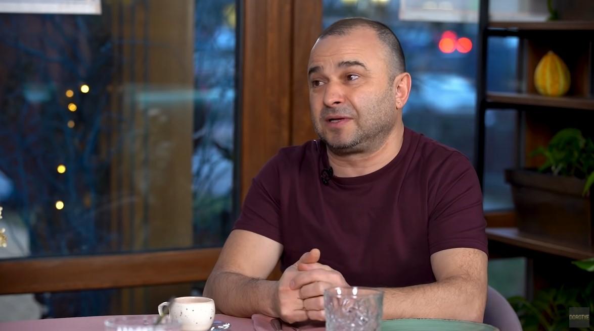 Віктор Павлік на інтерв'ю