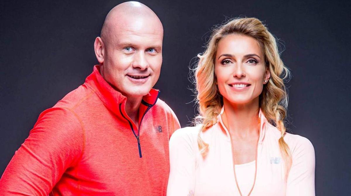 В'ячеслав Узелков і Марина Боржемська