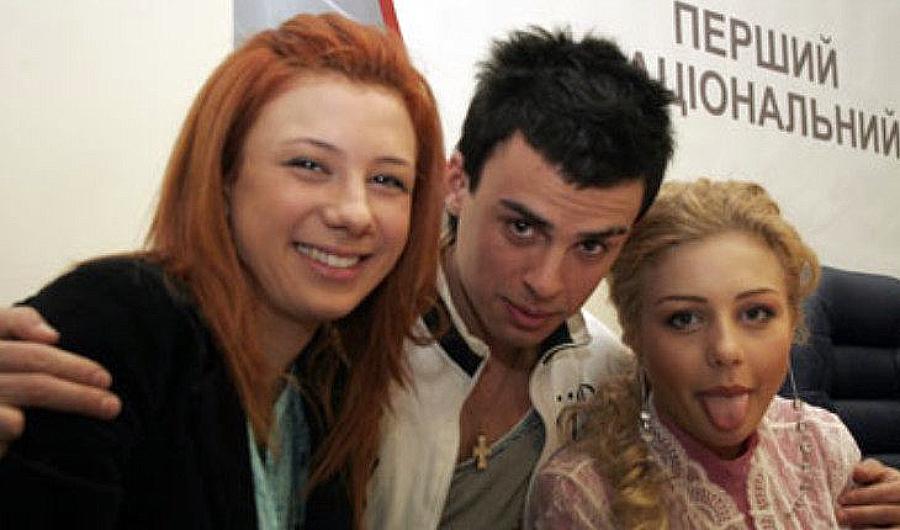 Кирило Туриченко та Тіна Кароль в юності