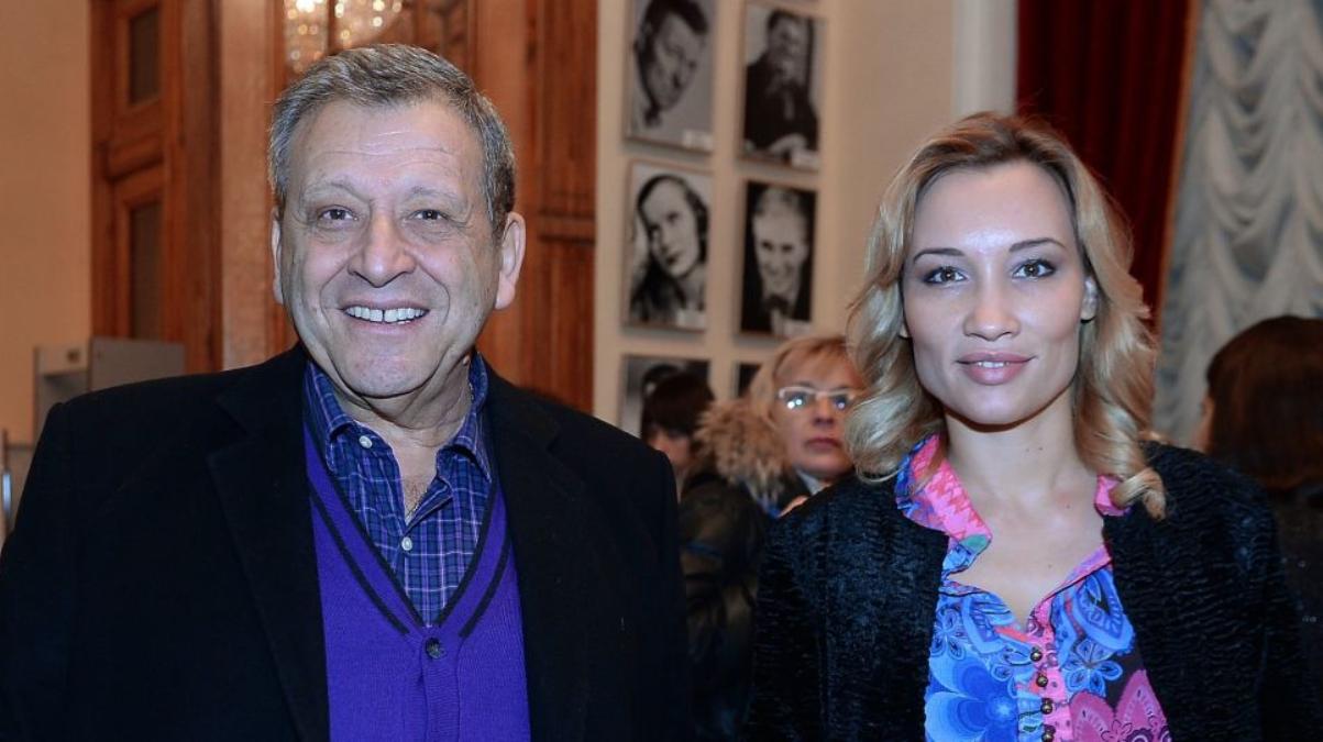 Борис Грачевський зі своєю третьою дружиною Катериною Білоцерківською
