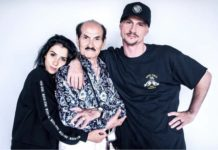Григорій Чапкіс з сином та онучкою