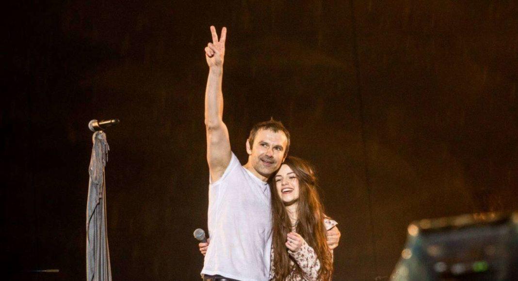 Святослав Вакарчук та Христина Соловій