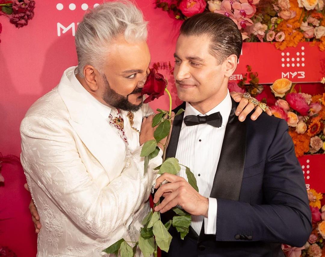Кіркоров і Дава на премії Муз-ТВ