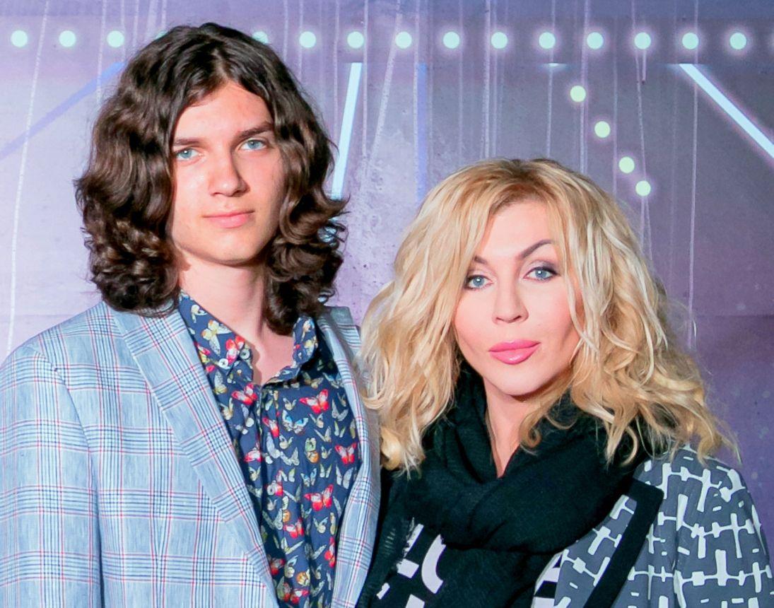 Ірина Білик з сином