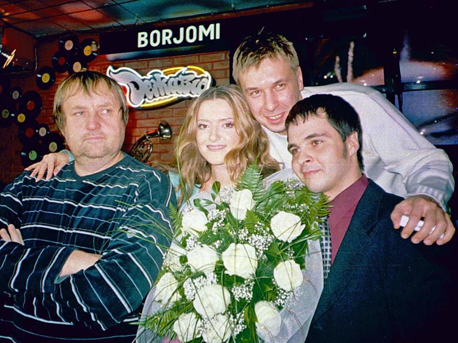 Наталя Могилевська та Олександ Ягольник (посередині)