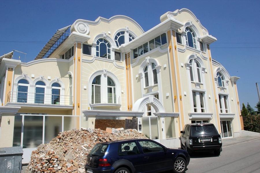 Будинок Руслани Лижичко з вулиці