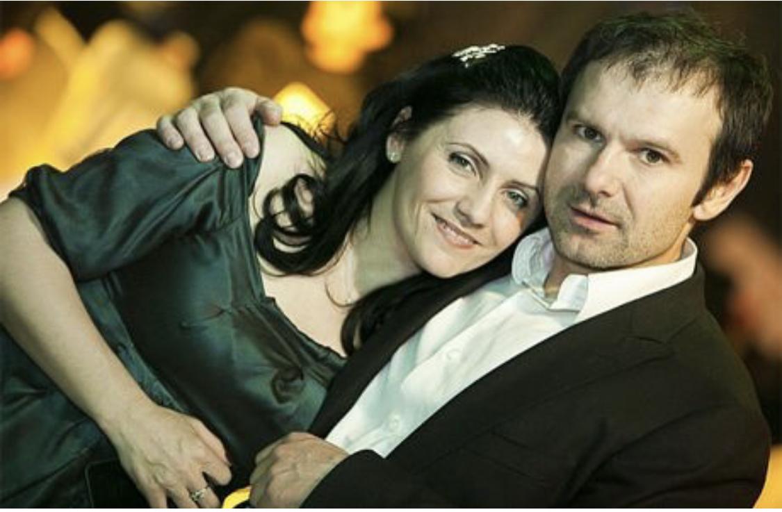 Святослав Вакарчук поруч з колишньою дружиною