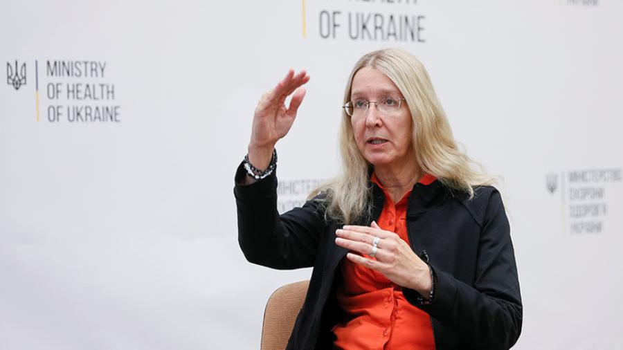 Уляна Супрун три роки обіймала посаду виконуючої обов'язки міністра охорони здоров'я України