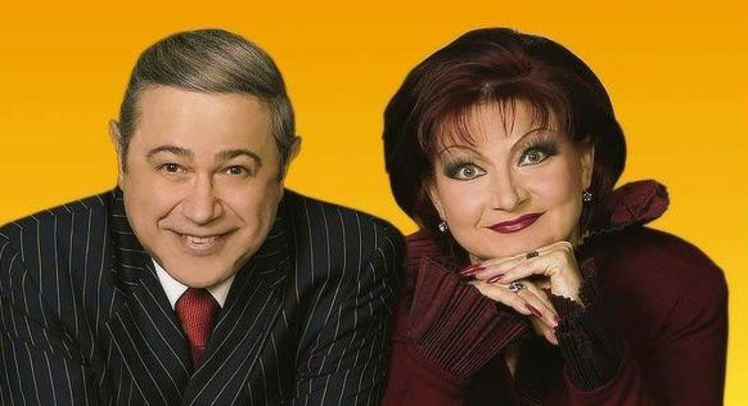 Євген Петросян та Олена Степаненко