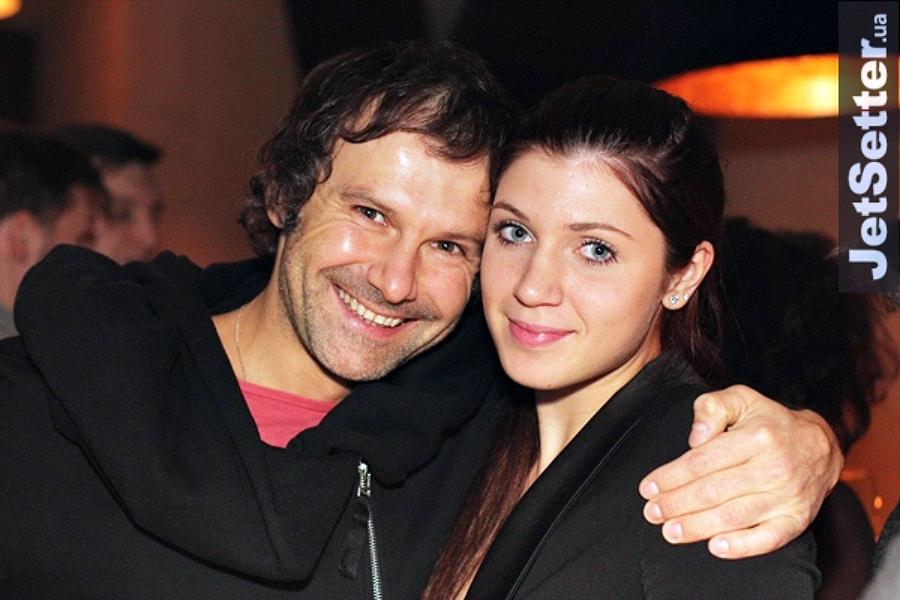 Святослав Вакарчук з дочкою Діаною