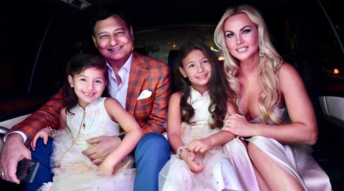 Камалія і Захур з доньками