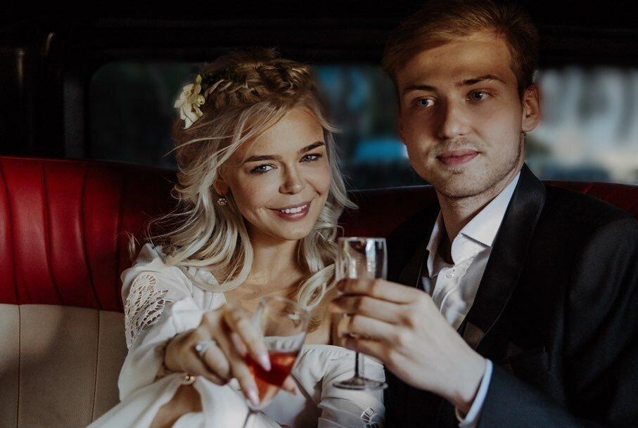Аліна Гросу та її колишній чоловік Олександр Комков