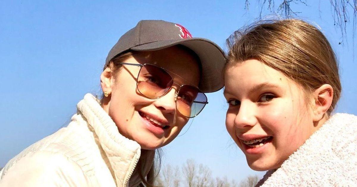 Лідія Таран з дочкою від Андрія Доманського Василиною