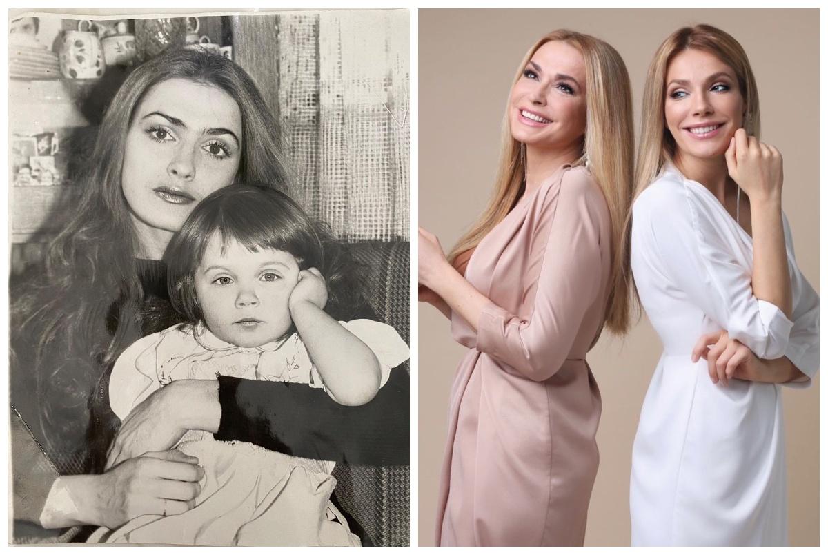 Ольга Сумська зі своєю старшою дочкою Тонею