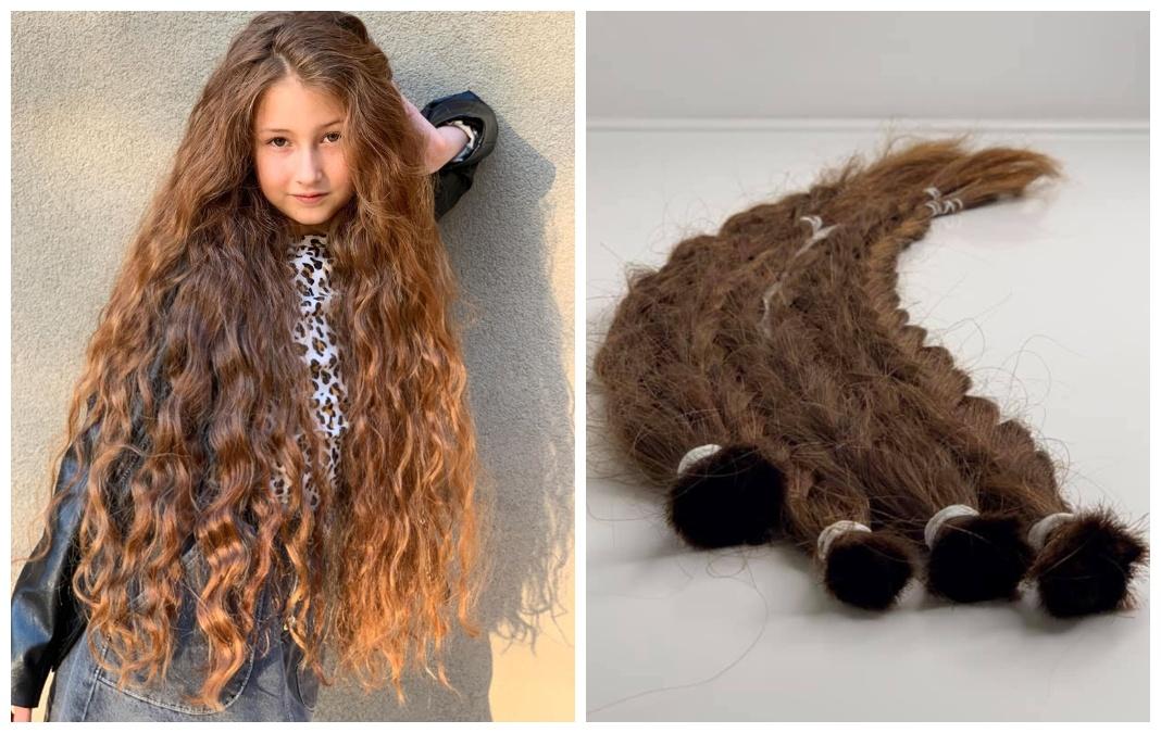 Харків'янка Емілія, яка пожертвувала своє волосся для дітей з алопецією