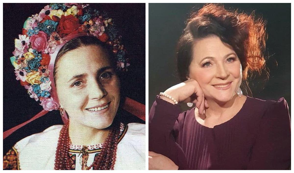 Ніна Матвієнко в молодості та зараз