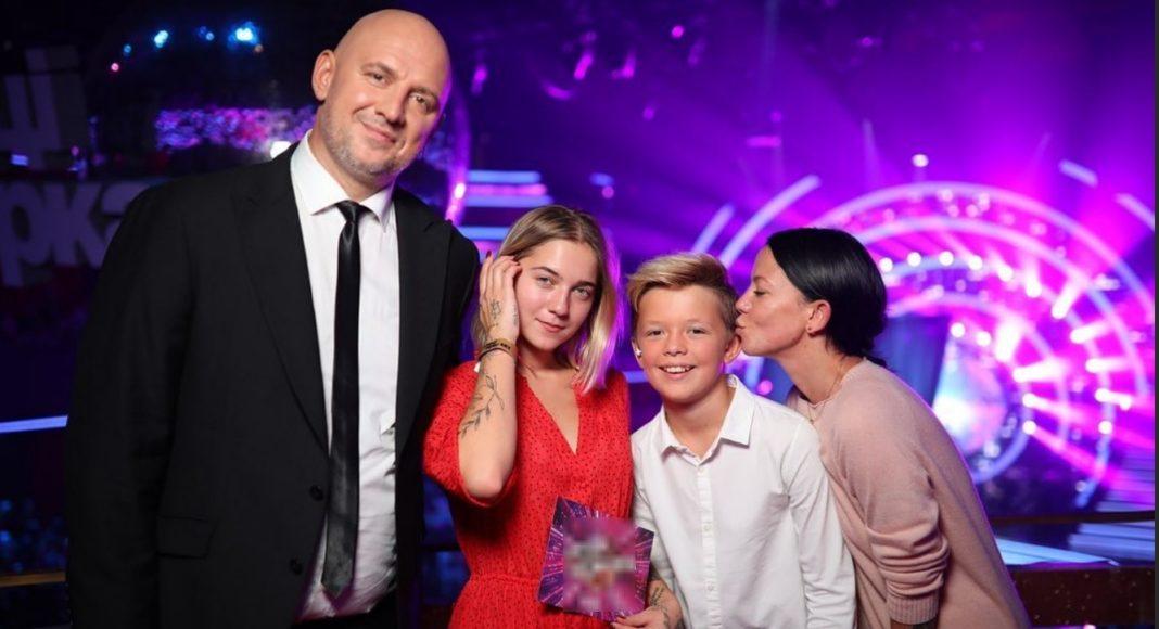 Ірина Норова і Потап з дітьми