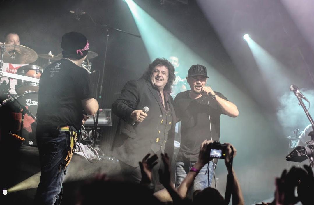 Іво Бобул на концерті з ТНМК