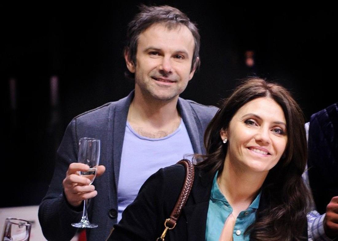 Святослав Вакарчук з дружиною