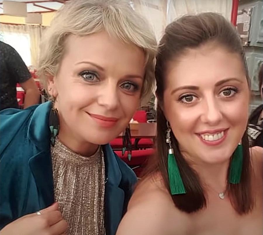 Ірма Вітовська з сестрою Наталею