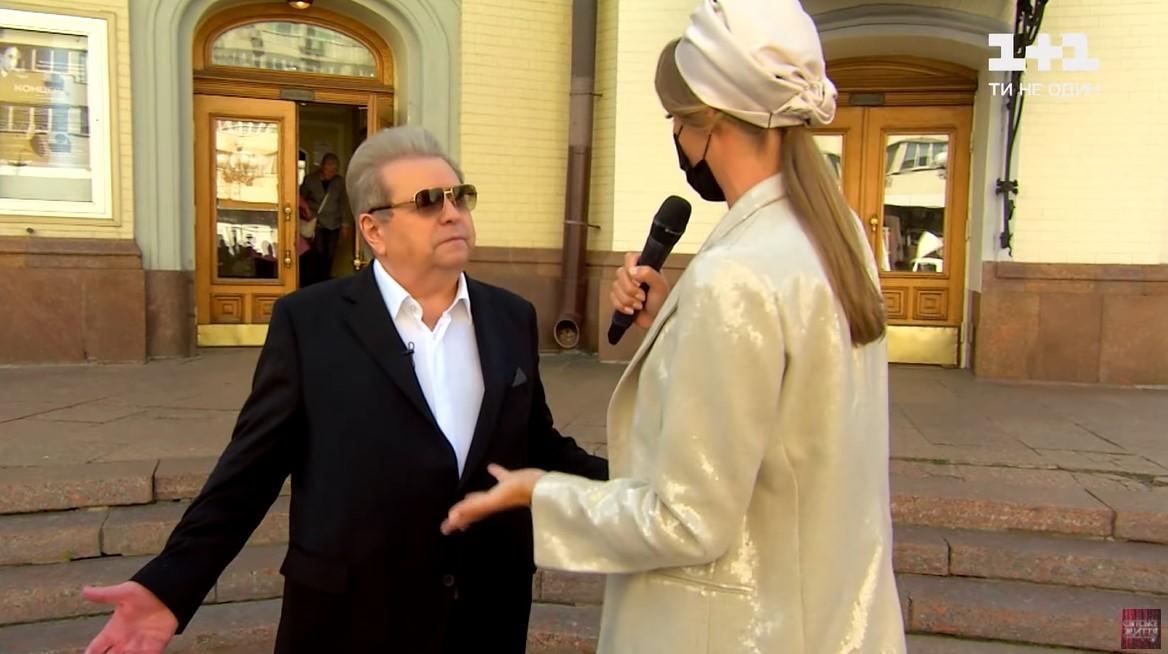 Михайло Поплавський в програмі Світське життя