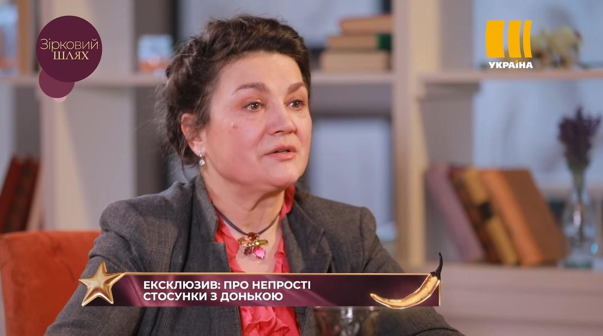 Наталія Сумська в програмі Зірковий шлях
