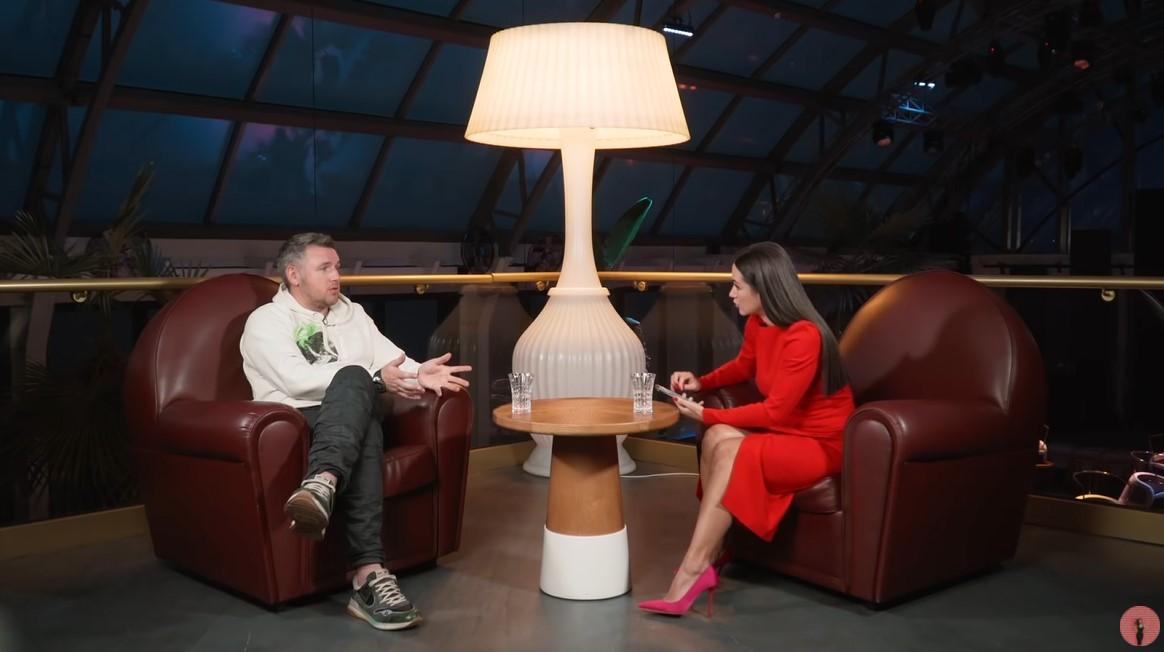 Дмитро Карпачов на інтерв'ю